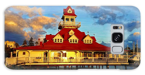 Boat House 1887 Galaxy Case