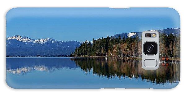 Boat House Lake Tahoe Galaxy Case