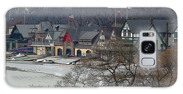 Philadelphia's Boat House Row  Galaxy Case by Cindy Manero