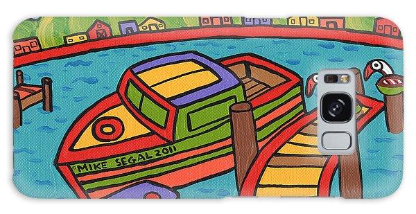 Boat In The Bayou - Cedar Key Galaxy Case