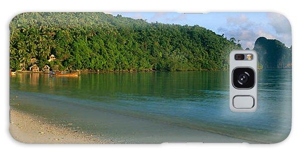 Phi Phi Island Galaxy Case - Boat In The Sea, Loh Dalam Bay, Phi Phi by Panoramic Images