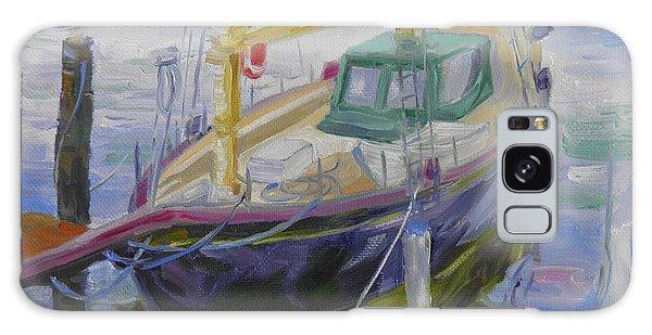 Boat Of Bountiful Color Galaxy Case