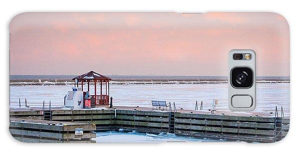 Boat Pier Lake Michigan Galaxy Case