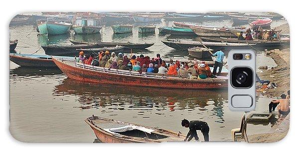 The Journey - Varanasi India Galaxy Case