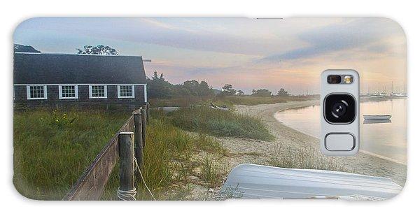 Boathouse At Dawn Galaxy Case