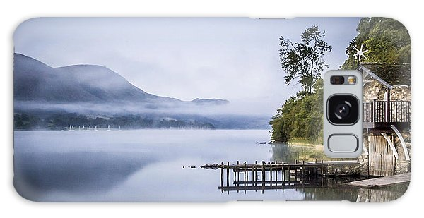 Boathouse At Pooley Bridge Galaxy Case