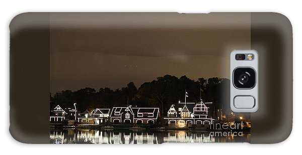 Boathouse Row Galaxy Case by Christopher Woods