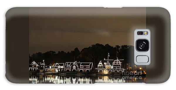 Boathouse Row Galaxy Case