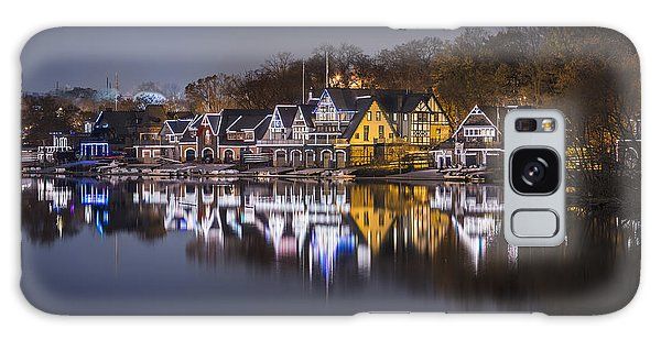 Boathouse Row Galaxy Case