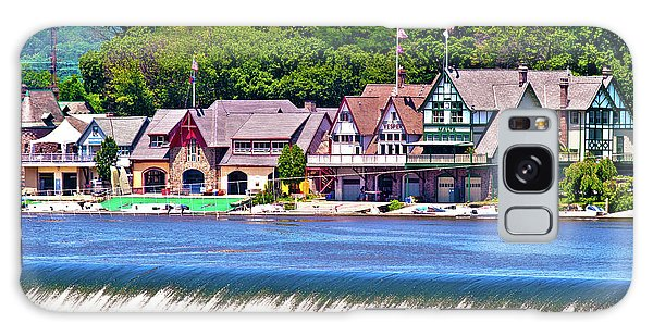 Boathouse Row - Hdr Galaxy Case