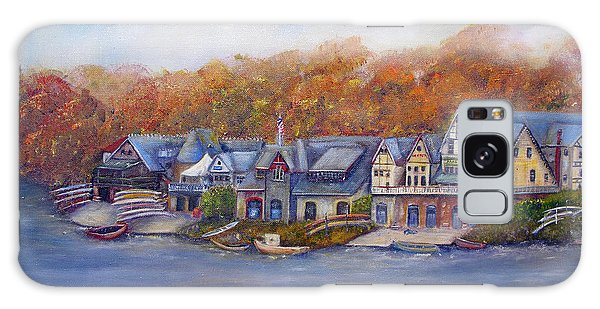 Boathouse Row In Philadelphia Galaxy Case