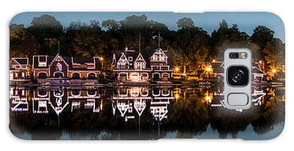 Boathouse Row Panorama Galaxy Case