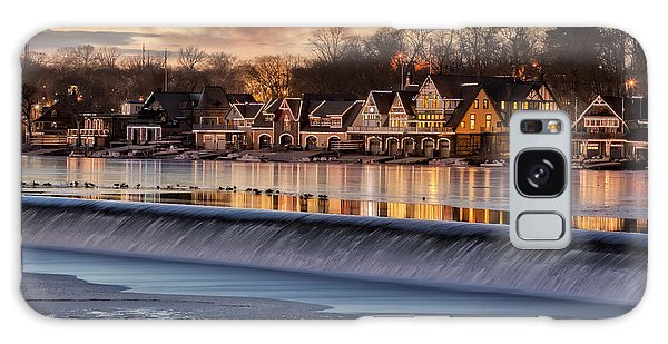 Galaxy Case featuring the photograph Boathouse Row Philadelphia Pa by Susan Candelario