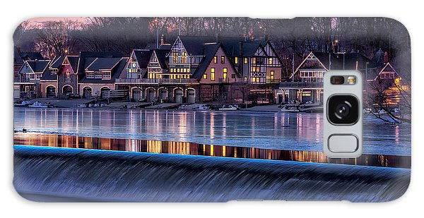 Galaxy Case featuring the photograph Boathouse Row by Susan Candelario