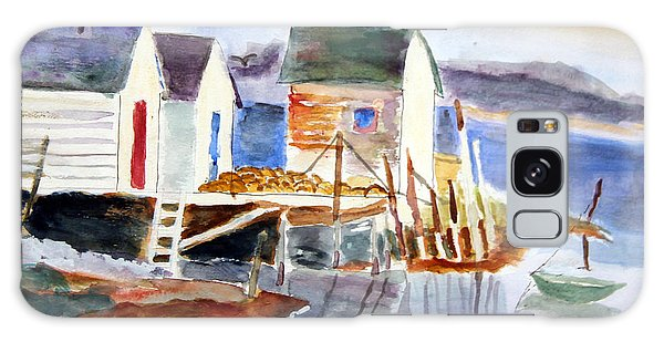 Boathouses On The Wharf Galaxy Case