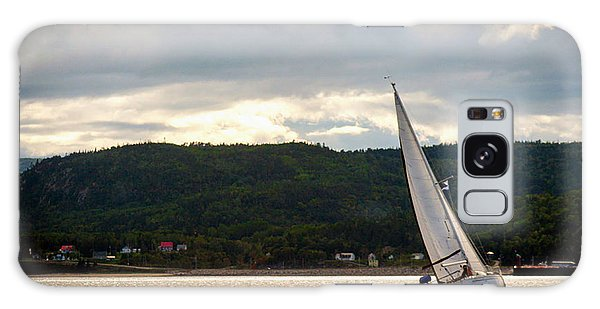 Boating In Tadoussac Galaxy Case