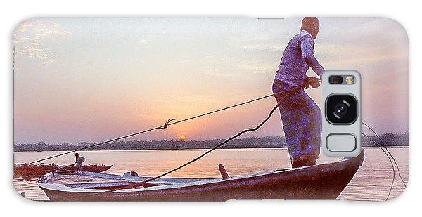 Boatman On The Ganges Galaxy Case