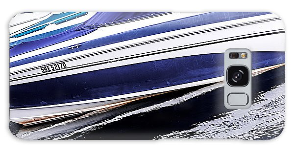 Motor Yacht Galaxy Case - Boats And Reflections by Elena Elisseeva