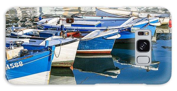 Boats At Anchor Galaxy Case