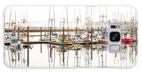 Boats At Newport Marina Galaxy Case