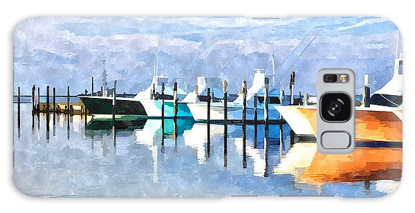 Boats At Oregon Inlet Outer Banks IIi Galaxy Case
