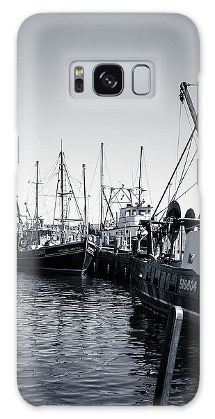 Boats At The Pier  Galaxy Case