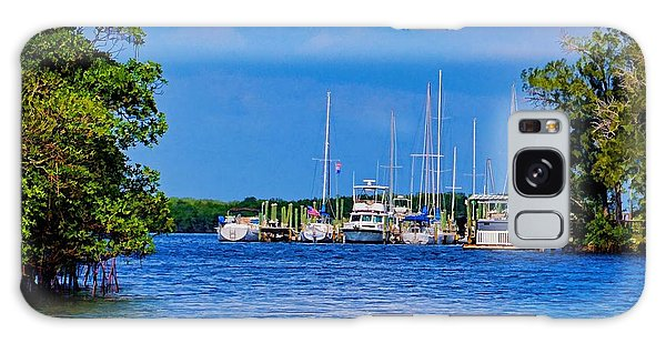 Boat's Home Galaxy Case by Pamela Blizzard