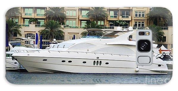 Motor Yacht Galaxy Case - Boats In Dubai Marina by Jelena Jovanovic