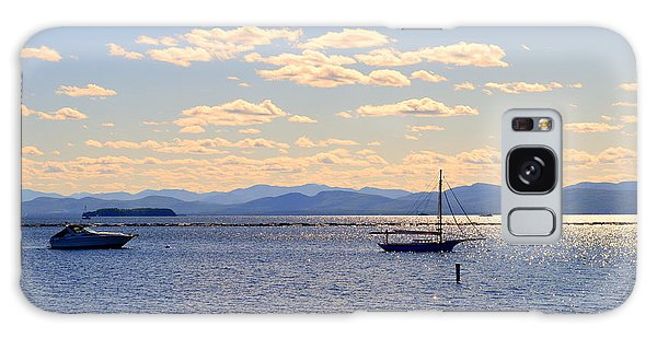 Boats On Lake Champlain Vermont Galaxy Case