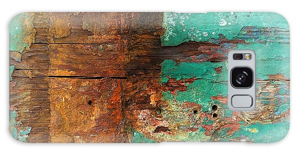 Boatyard Abstract 6 Galaxy Case by Newel Hunter