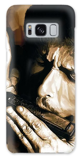Bob Dylan Artwork 2 Galaxy Case