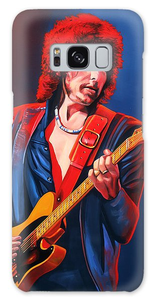 Bob Dylan Painting Galaxy Case by Paul Meijering
