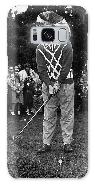 Bob Hope At Bing Crosby National Pro-am Golf Championship  Pebble Beach Circa 1955 Galaxy Case