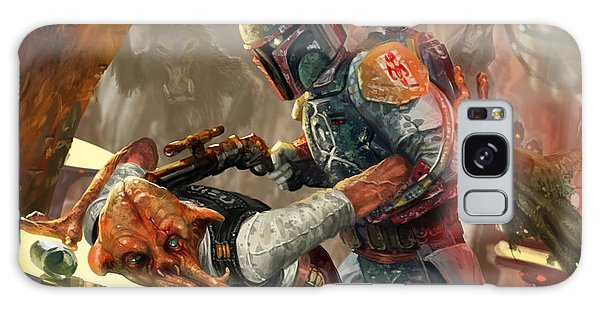 Stars Galaxy Case - Boba Fett - Star Wars The Card Game by Ryan Barger
