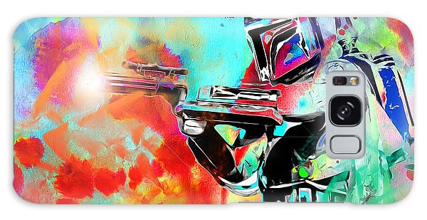 Boba Fett Star Wars Galaxy Case by Daniel Janda