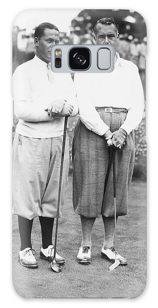 Amateur Galaxy Case - Bobby Jones At Pebble Beach by Underwood Archives
