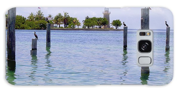 Mangrove Snapper Galaxy Case - Boca Chita Docks by Carey Chen