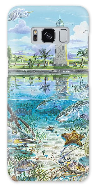 Mangrove Snapper Galaxy Case - Boca Chita In0026 by Carey Chen