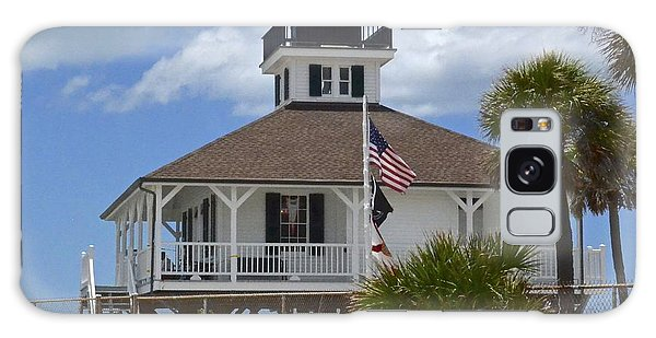 Boca Grande Lighthouse Galaxy Case by Carol  Bradley