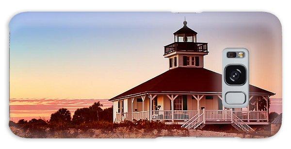 Boca Grande Lighthouse - Florida Galaxy Case by Nikolyn McDonald