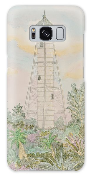 Boca Grande Lighthouse Galaxy Case