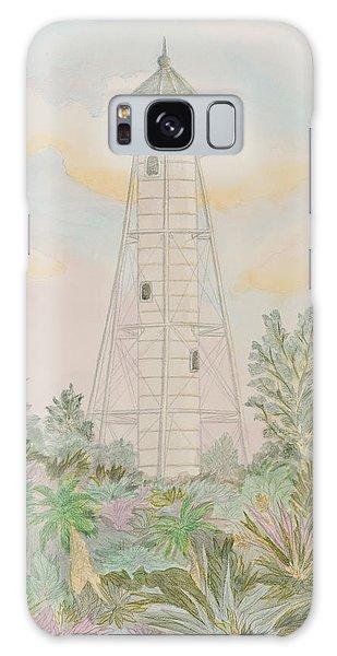 Boca Grande Lighthouse Galaxy Case by Nancy Taylor
