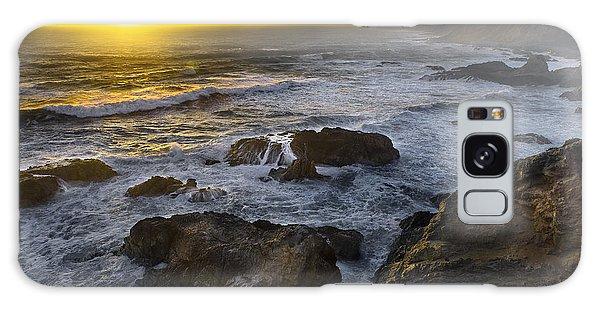 Bodega Head At Sunset Galaxy Case
