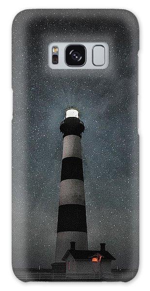 Bodie Island Light Midnight Galaxy Case