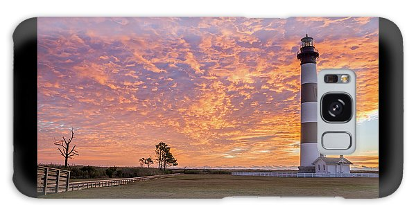 Bodie Island Lighthouse At Sunrise Galaxy Case