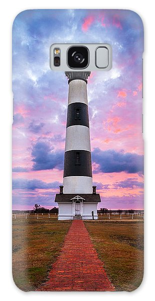 Bodie Island Lighthouse Sunrise Obx Outer Banks Nc - The Gatekeeper Galaxy Case