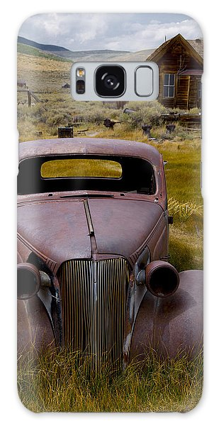 Bodie Rest Stop Galaxy Case by Jim Snyder