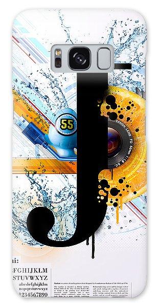 Layers Galaxy Case - Bodoni J by Samuel Whitton