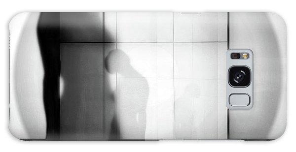 Round Galaxy Case - Body Language 52 by Igor Shrayer