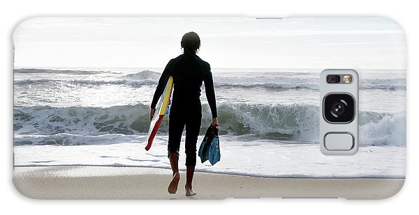 Board Walk Galaxy Case - Bodyboarder by Gustoimages/science Photo Library